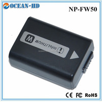 Factory price camera rechargeable battery for Sony NP-FW50