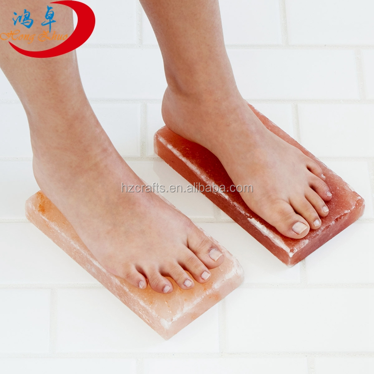 Himalayan Salt Block for Feet Detoxification