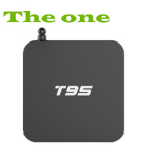 TV box T95 Android 5.1 system smart tv ,OTT enjoy TV & Video & M usic & Picture & Game Amlogic chipest android
