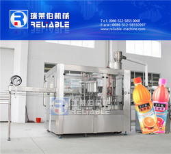 Good Quality 3-in-1 Automatic Fruit Juice Processing Plant