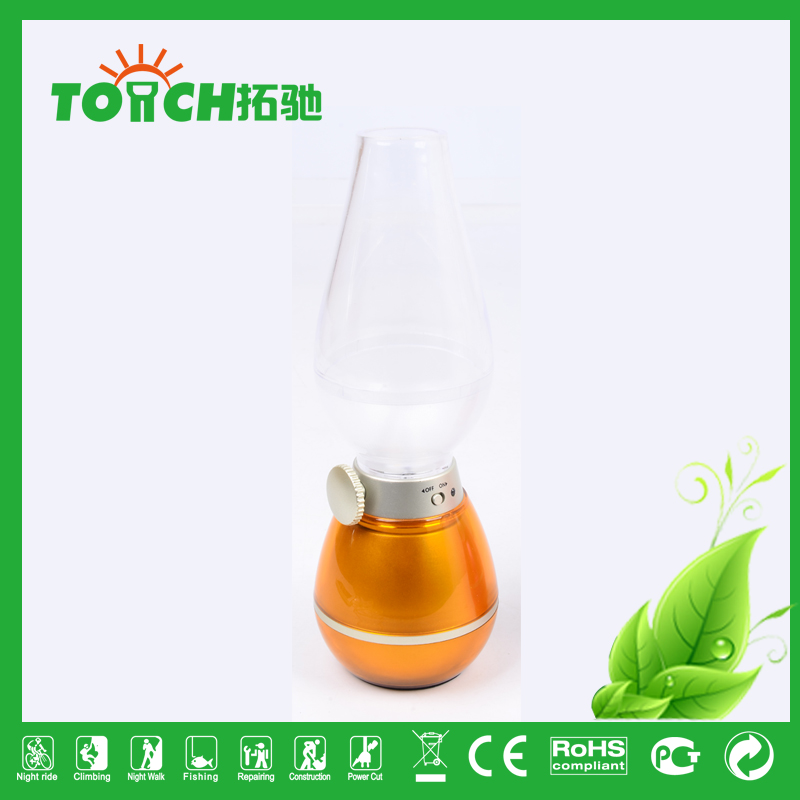 Solar Rechargeable Camping bottle Lantern Portable LED Camp Light Flashlight Lamp Battery Powered
