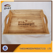 custom bamboo wood wooden serving tray