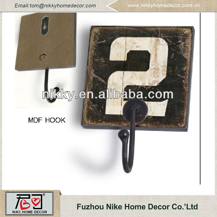 Wholesale China wooden hooks,hat and coat hooks,hook metal hook