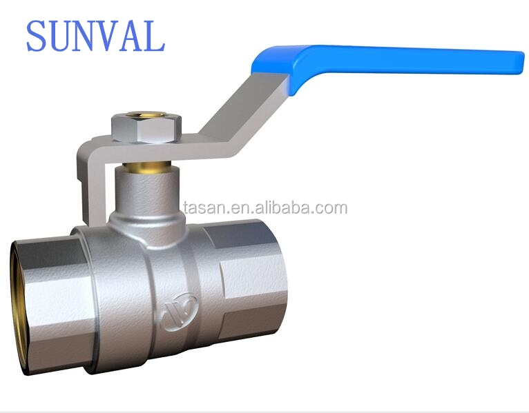 S1106 03 high quality cheapest price full flow Long level handle brass Ball Valve