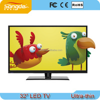 Clear image Flat TV 32 inch LED TV with loud natural sound
