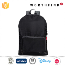 Best quality polyester foldable travel backpack for hiking