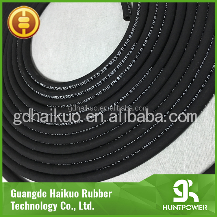Flexible Crimping Machine Hydraulic Hose,Italy Spiral Rubber Hydraulic Hose