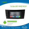 "Quad Core 7"" Android 4.4.4 Car Multimedia Player for Be nz W211 W463 W219 with Capacitive Screen Gps Navi,3G,Wifi,Bluetooth"