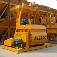 Popular concrete equipment JS500 Ready mix concrete mixer
