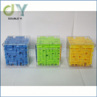 High quality plastic magic 3D intellect maze puzzle for kids