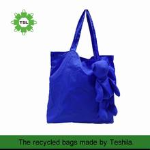Factory Price Eco-friendly Fabric 190T Polyester Bags Shopping Reusable Folding Shopping Bags