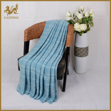 High quality super soft embossed twill wholesale blankets