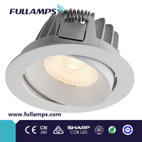 Fullamps 2014 down light led for home, sharp cob, cut hole 75-83mm