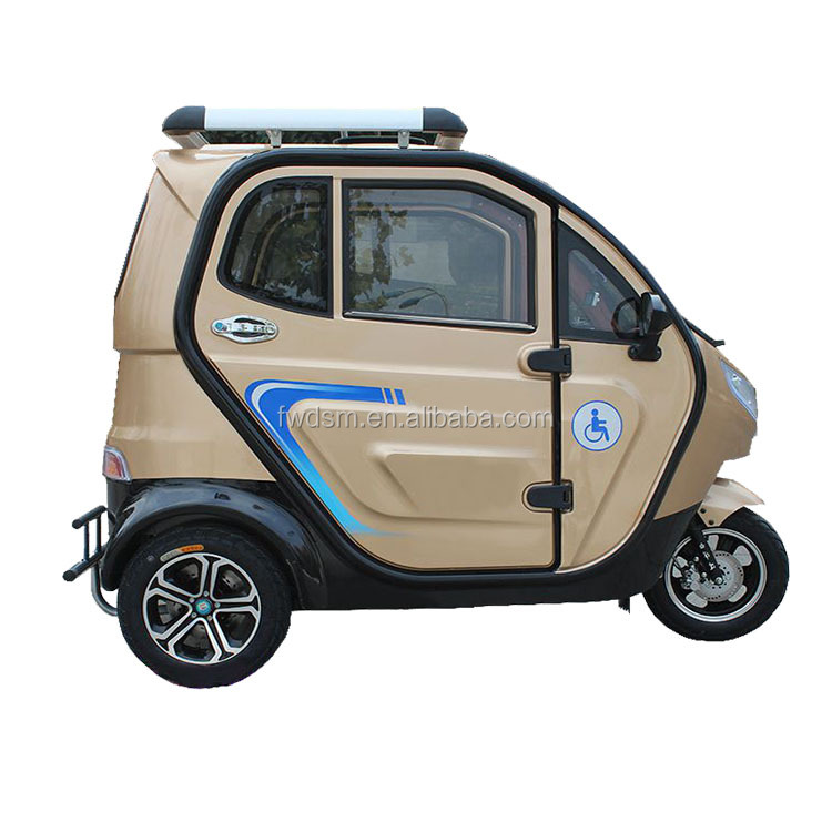 New enclosed mini 3 wheel motorcycle