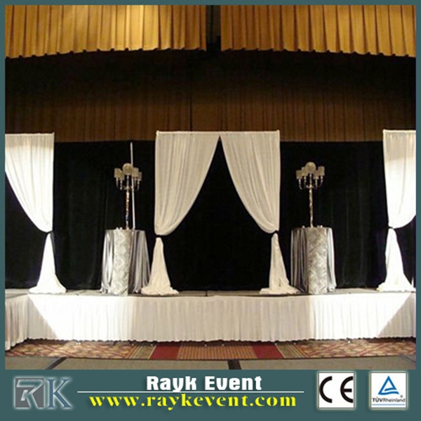 Automatic photo booth | pipe and drape for church backdrops