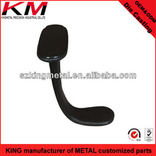Aluminum chair armrest mould swivel chair usage