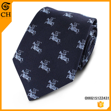 Chunhe custom fashion novel jacquard woven 100% silk men's neck tie