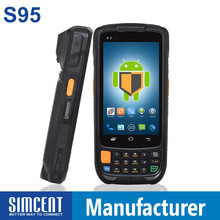 Rugged android PDA Police barcode scanner 3G WIFI GPS RFID
