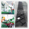 Precured / recycled truck tire tread rubber