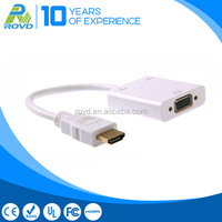 High quality HDMI to VGA Adapter with Audio