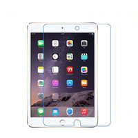 Anti-scratch 9H tempered glass protective film for ipad mini tempered glass screen protector