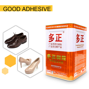 leather uppers to TPR Soles polyurethane adhesives 868HK