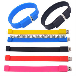 Waterproof USB Bracelet USB Memory Sticks