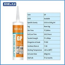 High Performance 100% RTV Acetic anti-fungus Silicone Sealant
