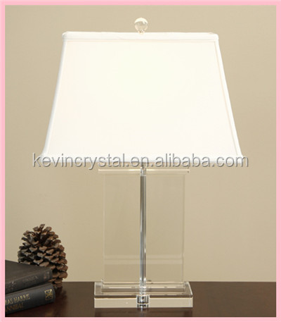 Decorative wholesale antique crystal table lamp