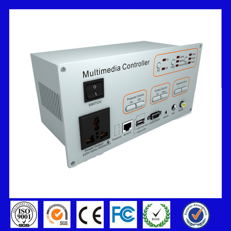 Gaoke Multimedia Controller control and management projector, screen, computer, Support the whiteboard and VGA signa