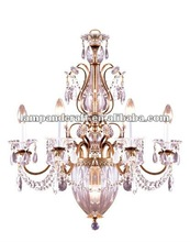 2012 Five Star Hotel crystal table candle chandelier