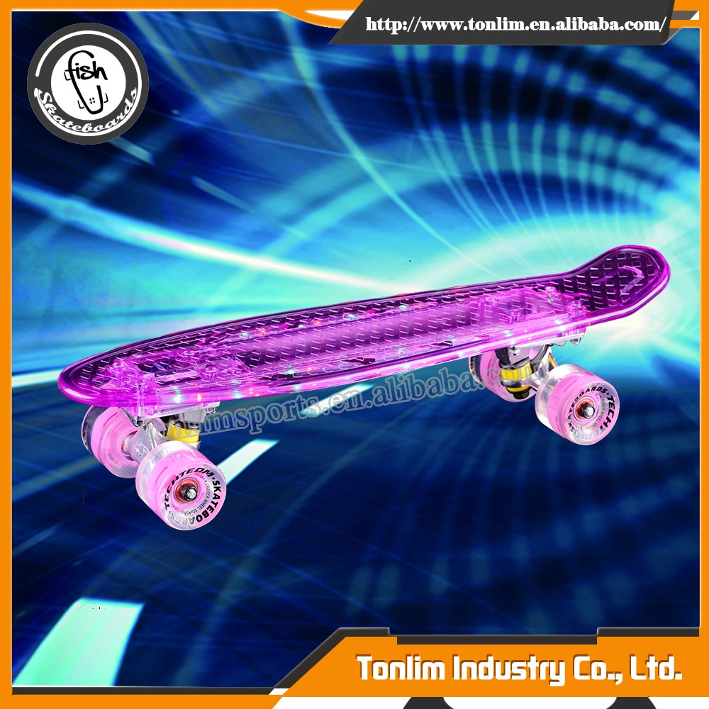 high performance twist led skateboard trucks