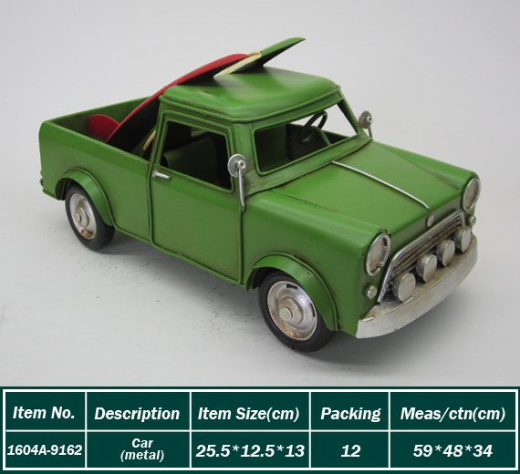 Newest sale trendy style metal handmade die car model with different size