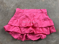 Clothing liquidation fashion branded cute high quality girl skirt