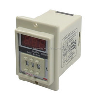 ASY-3D AC/DC 24V Power on Delay Timer Time Relay 1-999 Minute 8 Pin