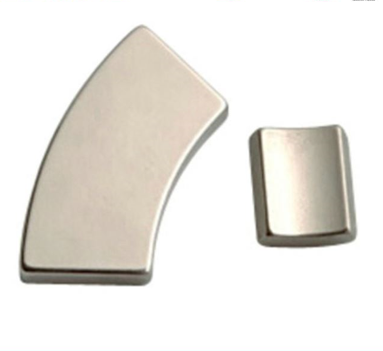 N52 personalized custom arc segment neodymium magnets for cabinet doors Packaging box
