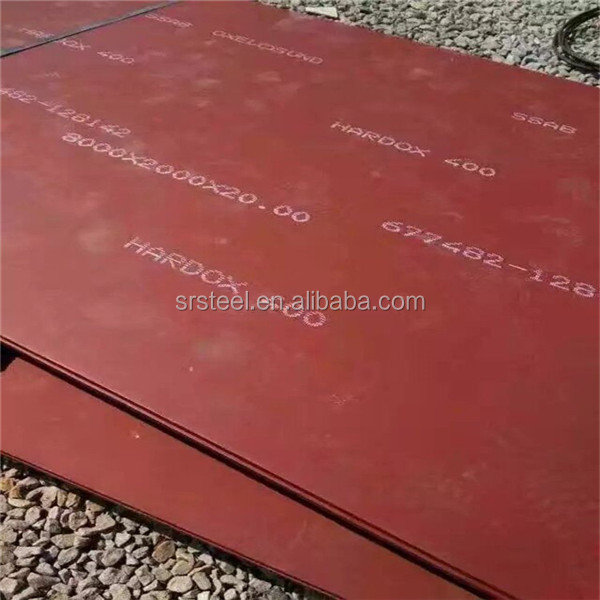 Steel plate with wear-resisting plate with 12mm AR500steel plate
