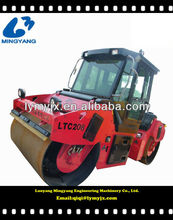 Heavy hydraulic drive double drum 12tons road roller