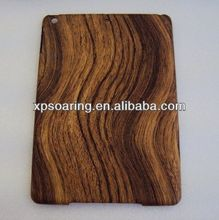 Wooden skin hard plastic case cover for ipad air ipad 5
