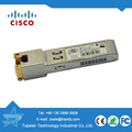Cisco original GLC-T Gigabit RJ45 Copper SFP 1000Base-T Transceiver Module, 850nm sfp distance