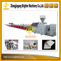 China Supplier Brighter High Quality Plastic Profile Extruison Machine Pvc Ceiling Production Line