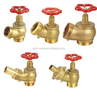 oblique water shutoff valve and brass valve