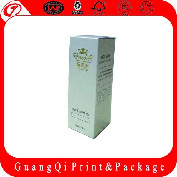 Guangzhou Manufacturer Customized Printing Cardboard Packing Box white cardboard box with CE certificate