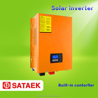 DC 24v 48v solar power inverter with solar battery charger