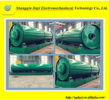DAYI professional pyrolysis equipment to recycle plastic bottles, waste plastic recycling machine get fuel plastic oil