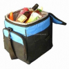 6-pack cooler tote bag / funky cooler bag / insulated lunch cooler bag with hook and loop closure