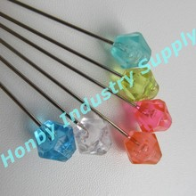 70mm Acrylic plastic jujube head pins for hand flower
