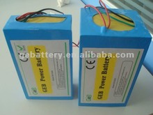 electric vehicle battery pack lifepo4 36v 10ah , ev li ion battery pack 36v, deep cycle recharge lifepo4 battery
