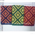 100% Cotton Multicolor Square Bath Towel
