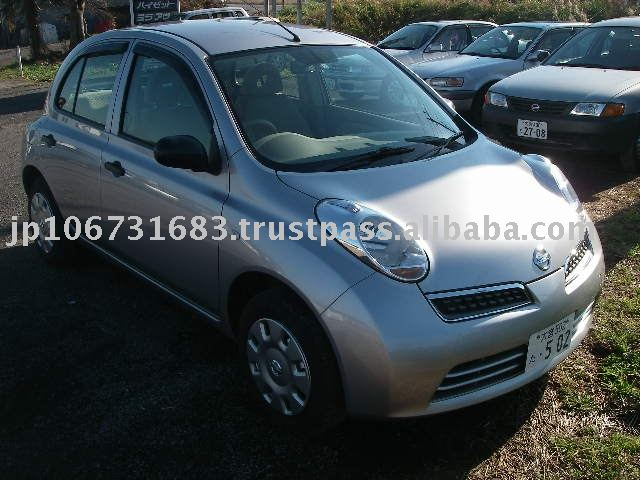 Buying used Cars Nissan March / Micra AK12 2007 Japan